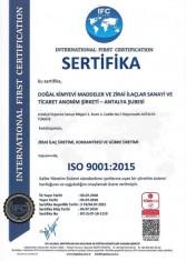 ISO 9001 2019 Fabrika